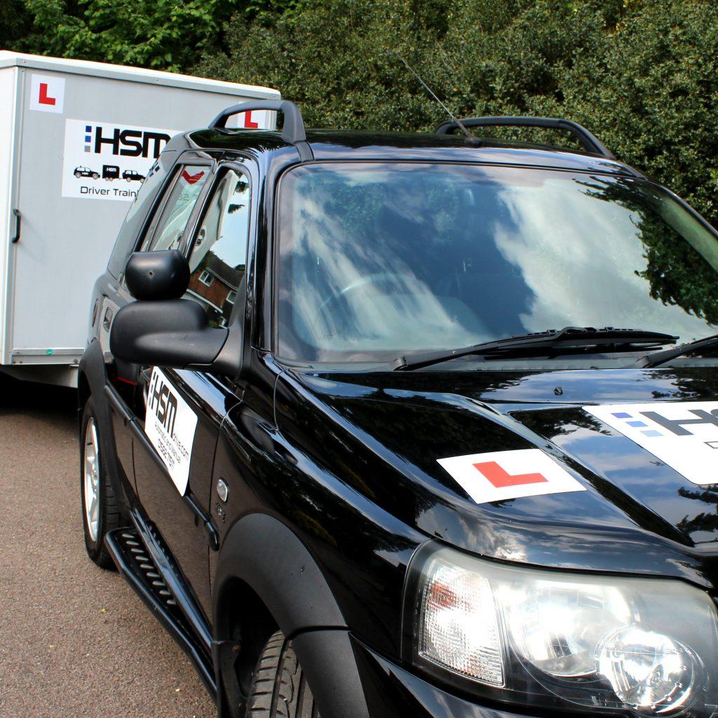 HSM B+E Trailer driving school