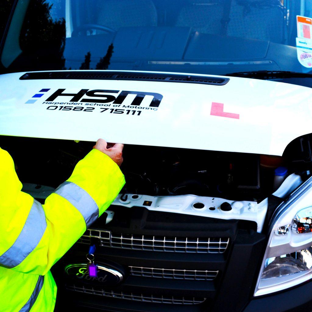 D1 Minibus Test HSM driver training