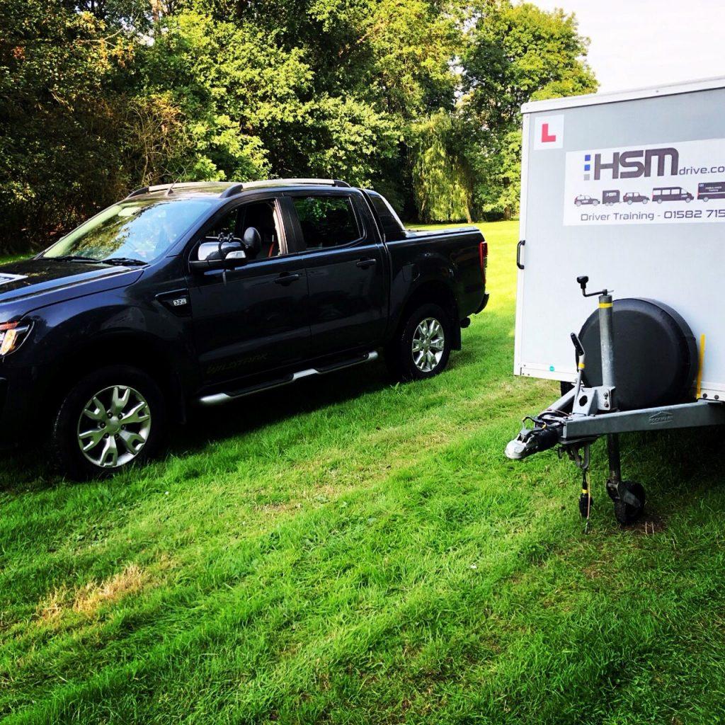 HSM driver training B+E trailer driving school Hertfordshire.jpg uncupple