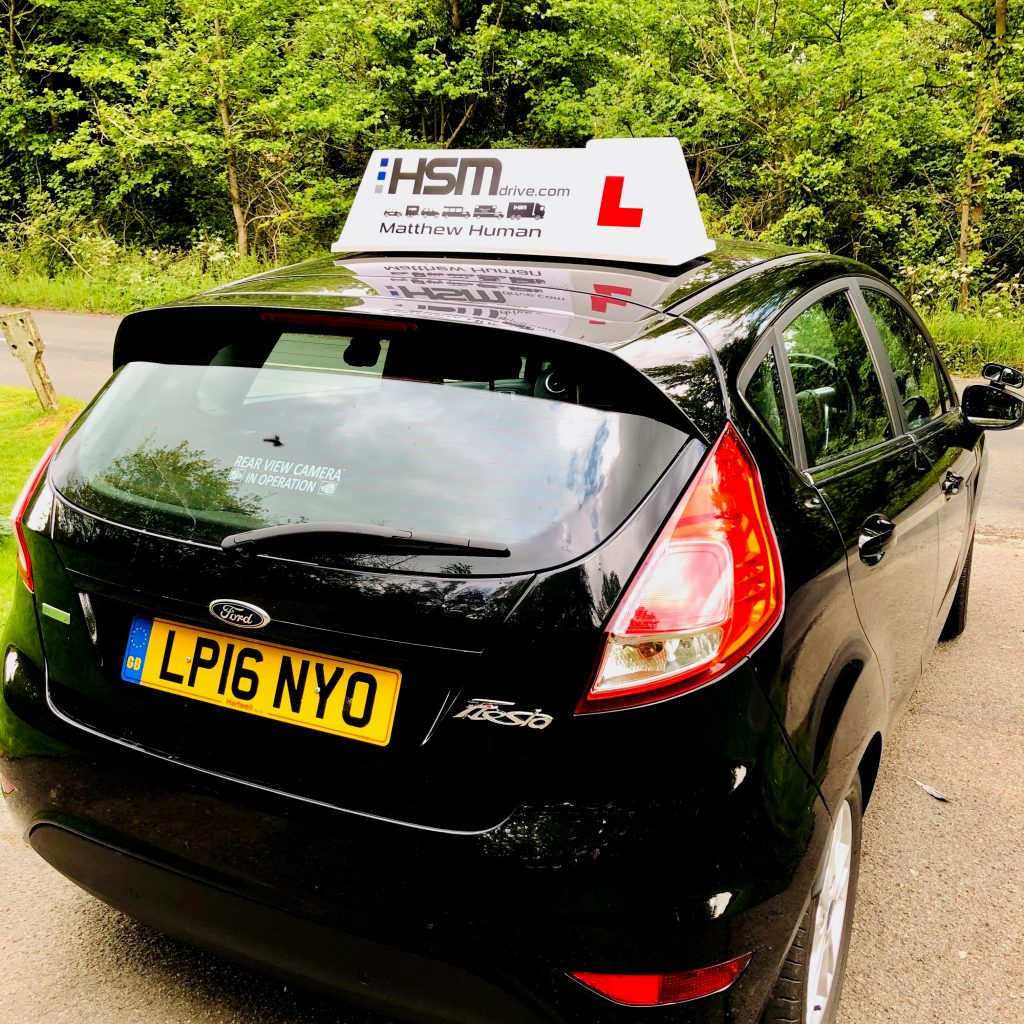 Matthew Human - HSM Driver training - Harpenden